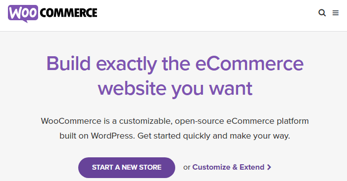 WooCommerce easy to use