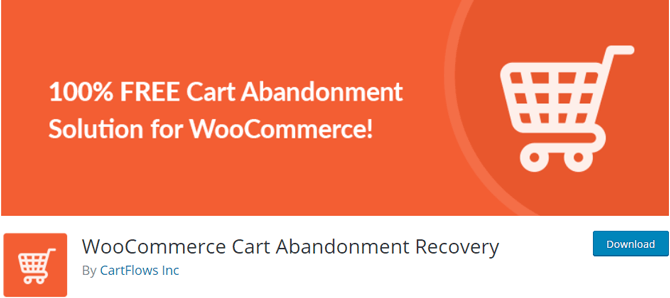 woocommerce cart abandonment recovery plugin