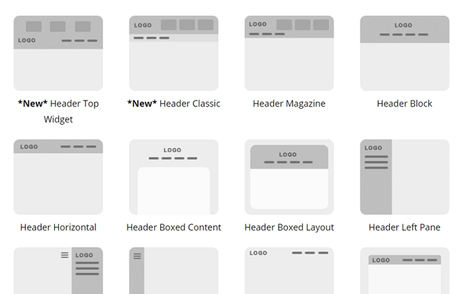 themify extensive customization options