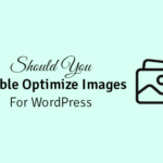 should you double optimize images for wordpress