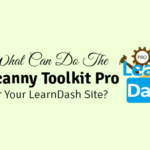 what can do the uncanny toolkit pro for learndash site
