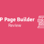 wp page builder review